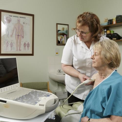 Diagnostic Ultrasound Bury St Edmunds Chiropractic Clinic